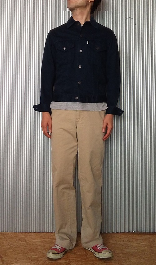 """Wearing image 1 = 90s Levi's Work Pants """"Levi's Workers"""" series CHINO PANTS Made in Japan"""
