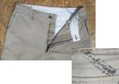 """Front pocket = 90s Levi's Work Pants """"Levi's Workers"""" series CHINO PANTS Made in Japan"""